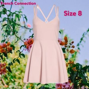 NWT French connection sexy Pink dress 8